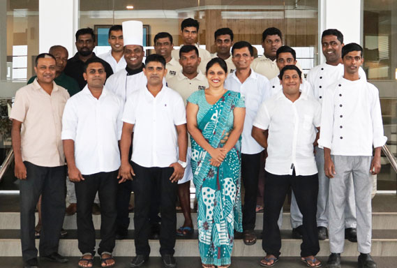 An experience and dedicated hotel staff