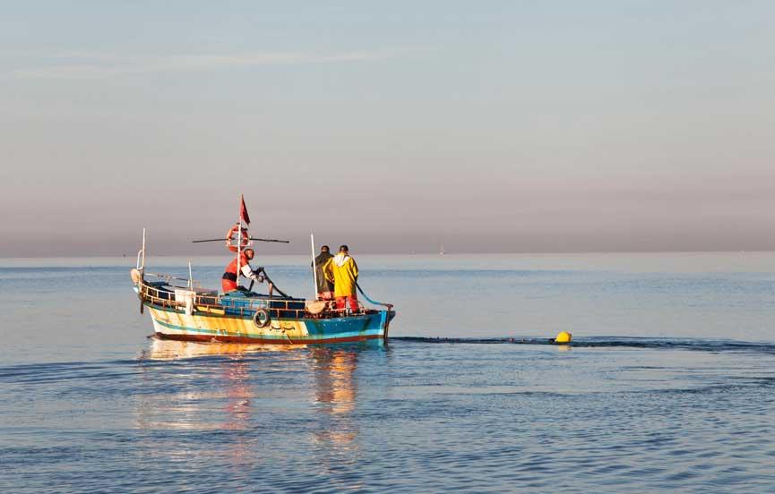 Deep sea fishing in Sri Lanka