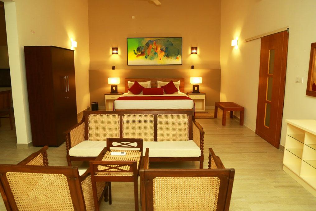 Apartment suite bedroom