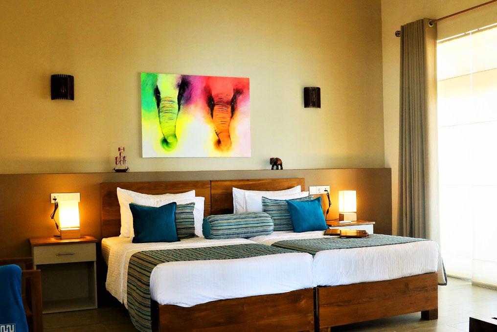 Ocean suite master bedroom