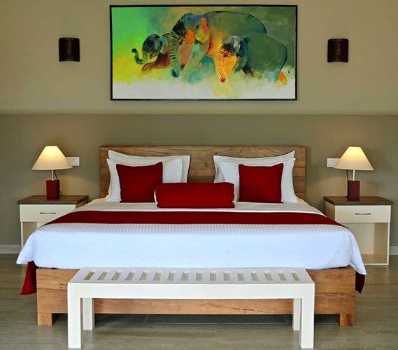 Junior suite, a studio apartment at Twenty Two Weligama