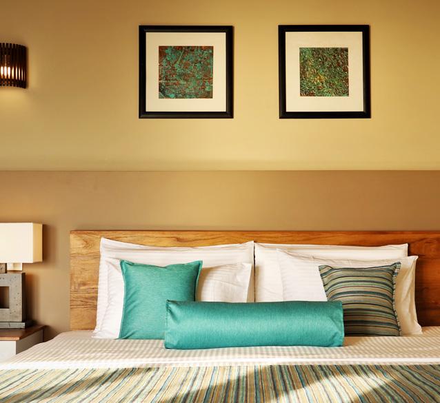 Three bedroom oceanfront suites at Weligama