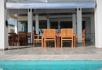 Pool bar at Twenty Two Weligambay Hotel